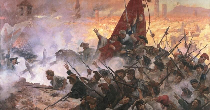 Commémore les événements de 1714