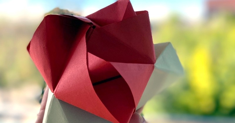 For Sant Jordi, let's make paper roses with femturism