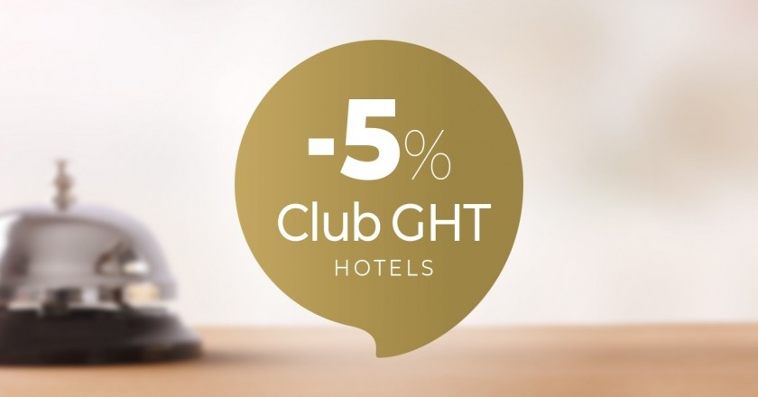 Oferta exclusiva para socios del CLUB GHT