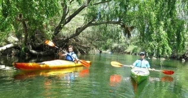 Dégustation de vins et parcours en kayak