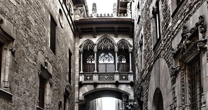 Charming corners of Barcelona