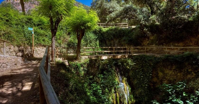 Camino de las fuentes en Peramola
