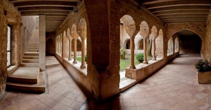 Routes du monastère à Cervià de Ter Viladasens