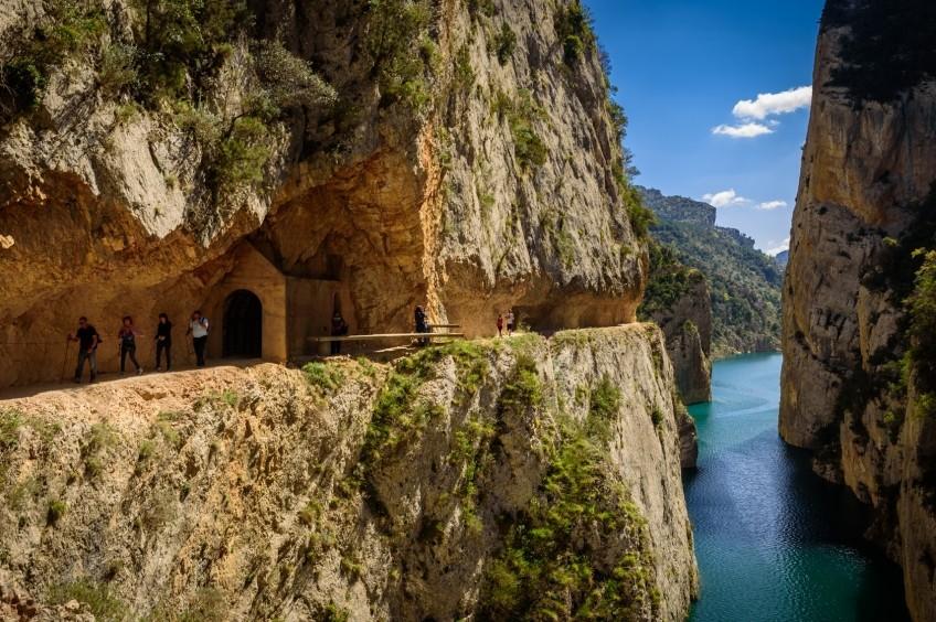Congost de Mont-rebei i passarel·les de Montfalcó