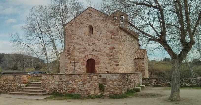 Le chemin de Sant Valerià à Mollet del Vallés
