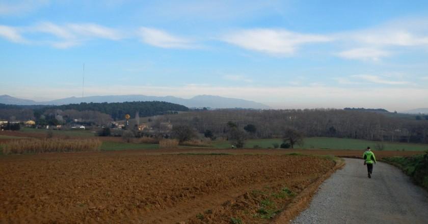 El camí dels Bandolers de Gallecs a Mollet del Vallès