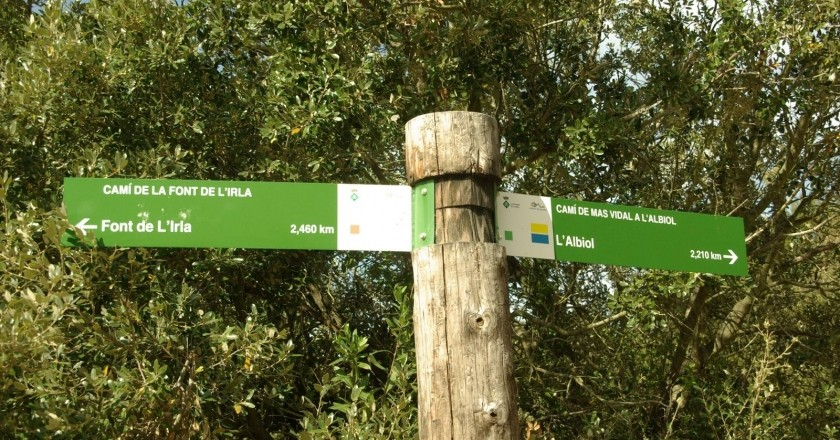 Excursió a la Font de l'Irla a l'Albiol