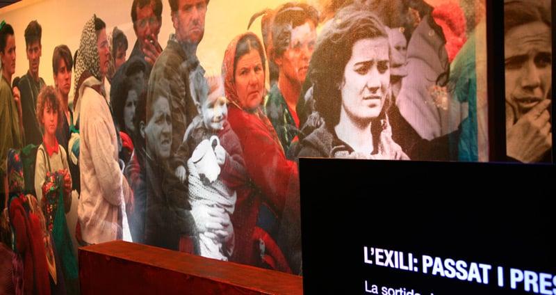 L'exili a la Jonquera, la ruta dels republicans cap a França