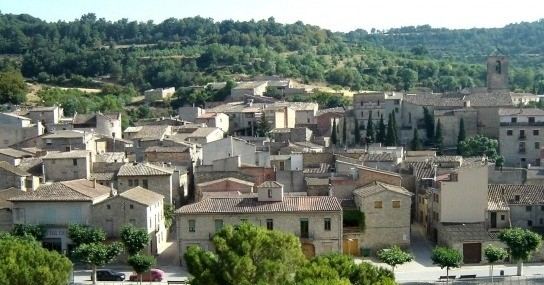 Font d'en Ballart i Sant Pere dels Bigats a Vallfogona de Riucorb