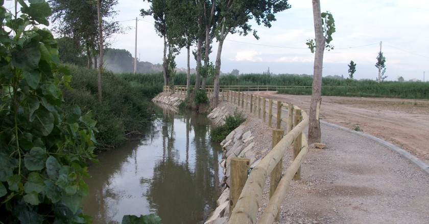 The water route in Montgai