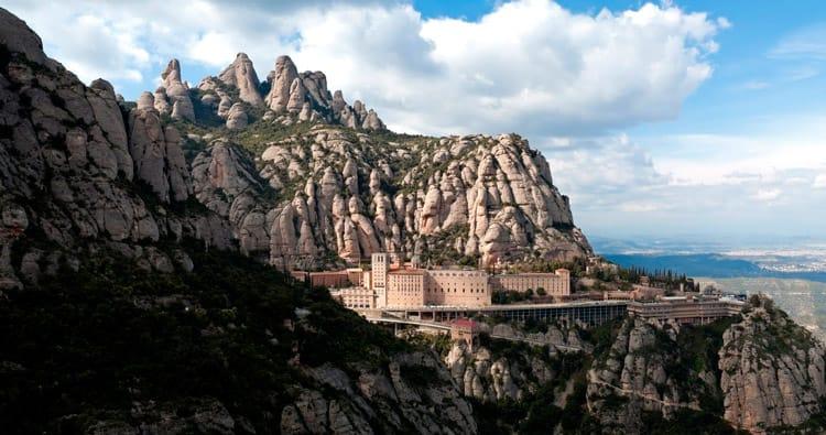 Montserrat, symbole de la Catalogne