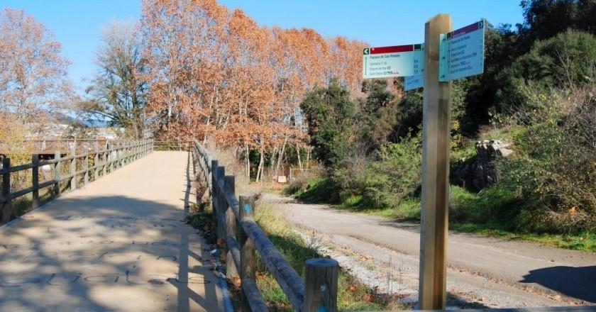 Ruta de la Tourdera: De Sant Celoni a Santa Maria de Palautordera