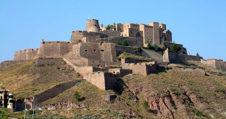 Ruta de los castillos en Cataluña