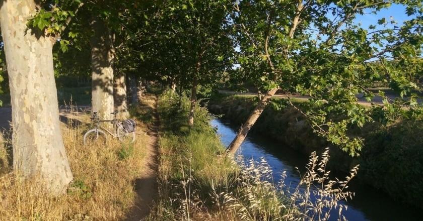 Ruta de los pedales del Canal de Urgell