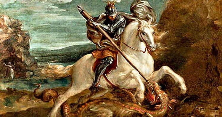 Ruta medieval per Montblanc per Sant Jordi