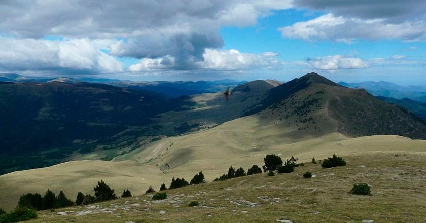 Itinéraire à travers les quartiers de Pardines à l'ombre de la Sierra Cavallera