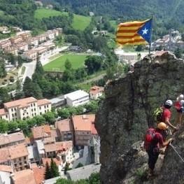 Excursion verticale ferrata à la Roca de la Cruz à Ribes de…