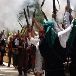 Fiesta Mayor en Caseres