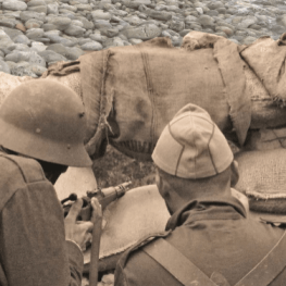 Jornada de recreació històrica de la Guerra Civil a Cunit