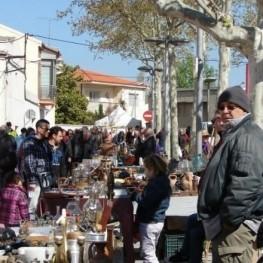 Mercat d'Artesania i Brocanters a Santa Margarida i els Monjos