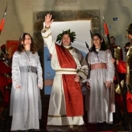 Pesebre viviente en Can Ratés en Santa Susanna