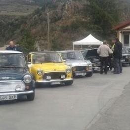 Rencontre de voitures classiques à Ribes de Freser