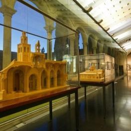 Visita al museu del Monestir de Sant Cugat del Vallès