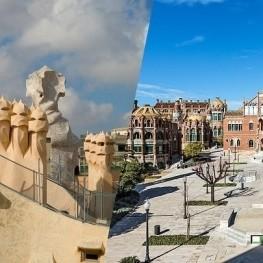 Visita combinada a La Pedrera i al Recinte Modernista de Sant…