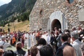 Día de San Gil en Vall de Núria