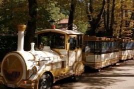 El tren turístico nos lleva a descubrir el camino de la Retirada…
