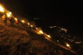 Fiesta de las Fallas de Taüll en el Valle de Boí