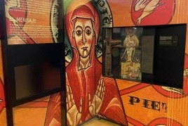 The exhibition 'Romanesque Time' in the church of San Pedro…