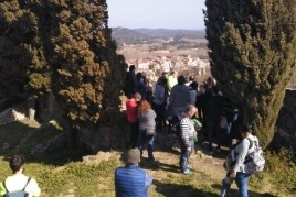 Visit to the Castle of Hostalric