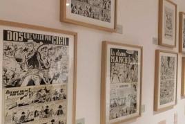 Visita al Museu del còmic i la il·lustració de Sant Cugat…