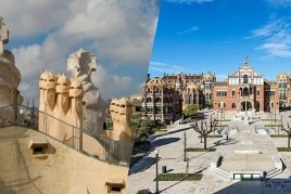 Combined visit in La Pedrera and the Sant Pau Modernist Site