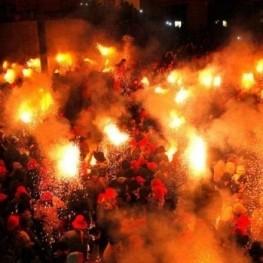 Festes de foc a Catalunya