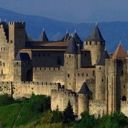 Trip to magical Carcassonne with children