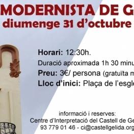 Ruta Modernista al mes d'octubre