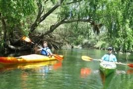 Descenso del Ebro en piragua por etapas: de Flix en el Mar en…