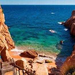 Coves and beaches of Sant Feliu de Guixols