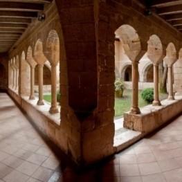 Roads of Monastery in Cervià de Ter Viladasens