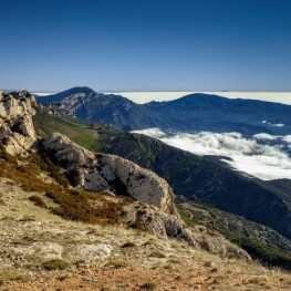 Cim de Sant Alís a la Serra del Montsec