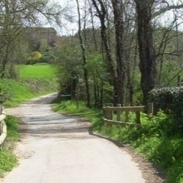 Route in the Sant Daniel Valley in Girona