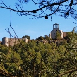 Route through the castle of Vilademager and the Fountain of…