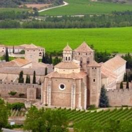 Ruta por el monasterio de Santa María de Poblet